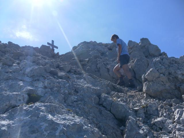 Foto: Wolfgang Lauschensky / Wander Tour / Durch das Kleine Griesener Kar auf das Lärchegg  / Finale / 31.07.2012 21:57:42