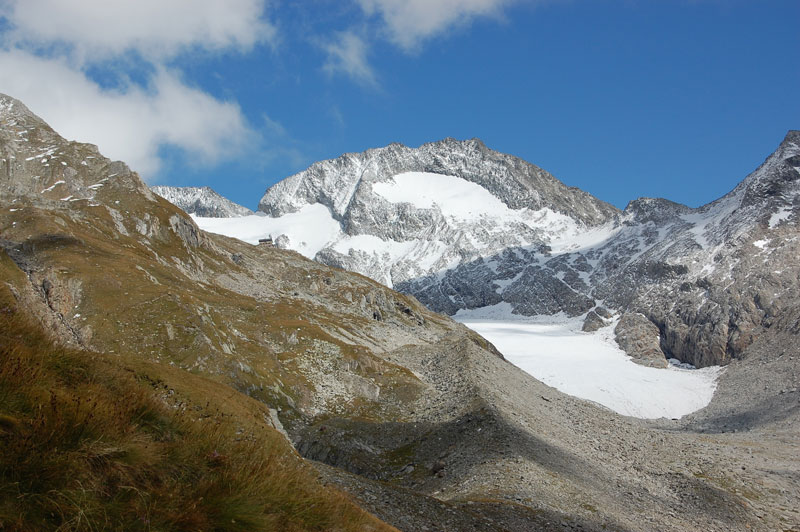 Foto: Grasberger Gerhard / Wander Tour / Hochfeiler / Gliederferner m. Niederer Weißzint und Hochfeiler Hütte / 13.09.2010 15:04:30