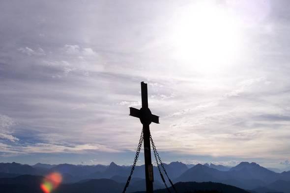 Foto: Tourismusverein Göstling Alpen / Wander Tour / Hochkar - Dürrenstein / Gipfelkreuz am Hochkar / 22.10.2008 16:30:46