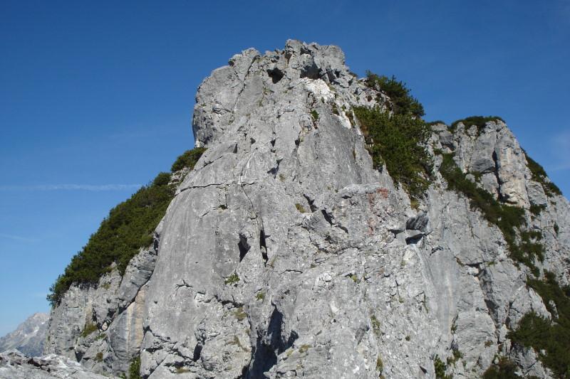 Foto: Günter Siegl / Wander Tour / Hochkranz, 1953m / Anregende Gratkletterei am Ostgrat mit I+/II- Stellen. / 08.06.2011 11:51:59