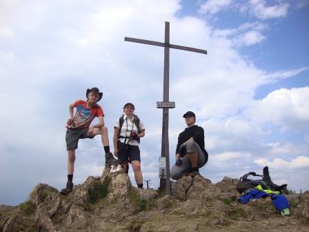Foto: Wolfgang Dröthandl / Wander Tour / Wildseeloder und Henne / Wildseeloder - Gipfel / 17.08.2015 15:14:15