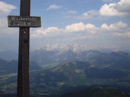 Foto: Wolfgang Dröthandl / Wander Tour / Wildseeloder und Henne / gegen Loferer Steinberge und Reiter Alpe / 17.08.2015 15:13:06