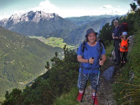 Foto: Wolfgang Dröthandl / Wander Tour / Von der Waidringer Steinplatte auf das Fellhorn / Querung durch die Latschen in der Ostflanke des Eggenalmkogels / 23.08.2016 13:04:47