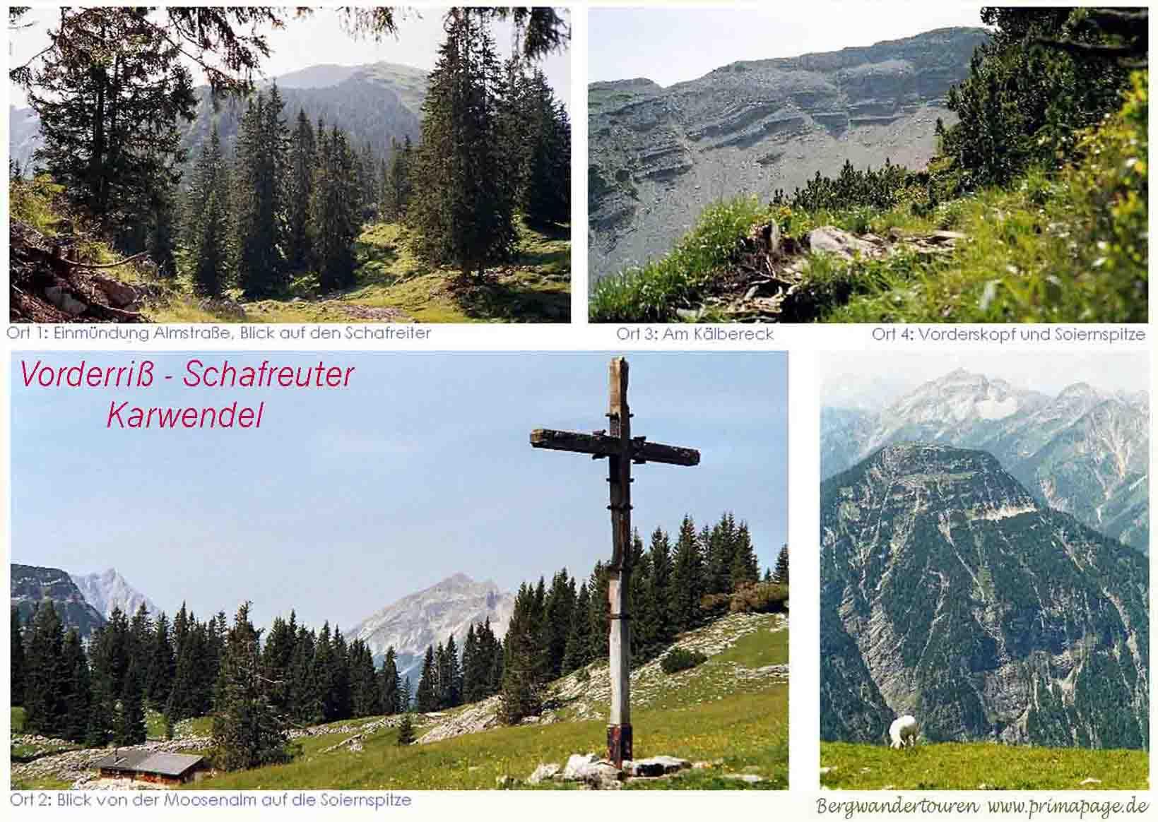Foto: primapage / Wander Tour / Seebergspitze und Seekarspitze über dem Achensee / Weitere Karwendeltour: Siehe Schafreuter,  mehr Fotos und bessere Auflösung siehe primapage.de / 06.06.2009 19:17:25
