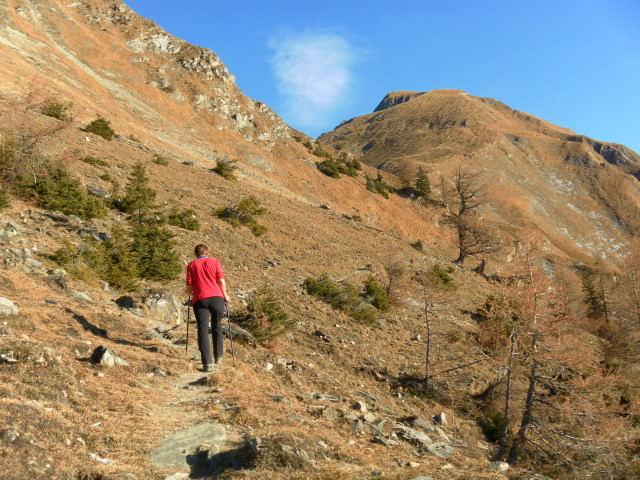 Foto: Wolfgang Lauschensky / Wander Tour / Rauris-Grubereck / Querung zur Scharte / 29.11.2011 22:56:51