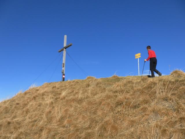 Foto: Wolfgang Lauschensky / Wander Tour / Rauris-Grubereck / Gipfelkuppe / 29.11.2011 22:52:46