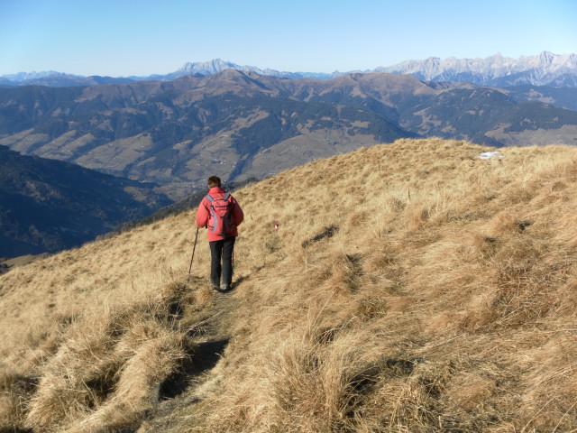 Foto: Wolfgang Lauschensky / Wander Tour / Rauris-Grubereck / Abstieg am Westrücken / 29.11.2011 22:52:26