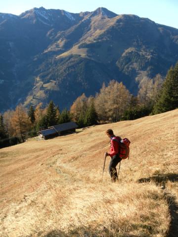 Foto: Wolfgang Lauschensky / Wander Tour / Rauris-Grubereck / zur Schrieflingalm / 29.11.2011 22:51:24