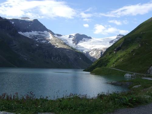 Foto: hofchri / Wander Tour / Vom Mooserboden auf das Große Wiesbachhorn (3564 m) / Start am Stausee Mooserboden / 30.09.2009 20:21:51