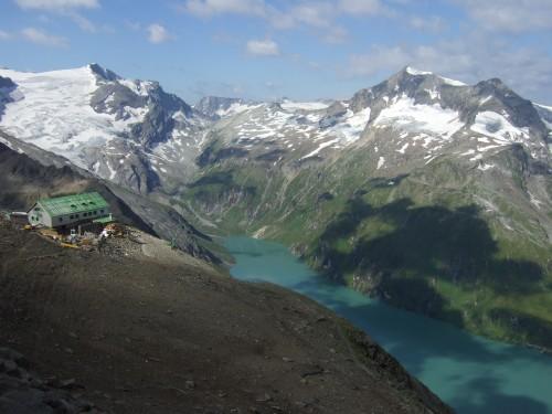 Foto: hofchri / Wander Tour / Vom Mooserboden auf das Große Wiesbachhorn (3564 m) / herrliches Farbenspiel / 30.09.2009 20:25:22