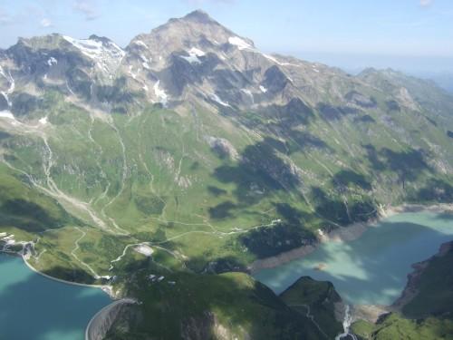 Foto: hofchri / Wander Tour / Vom Mooserboden auf das Große Wiesbachhorn (3564 m) / Blick zum Kitzsteinhorn / 30.09.2009 20:27:22