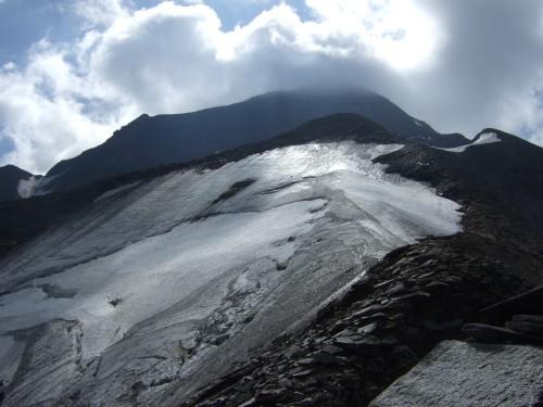 Foto: hofchri / Wander Tour / Vom Mooserboden auf das Große Wiesbachhorn (3564 m) / am Weg über den Kaindlgrat / 30.09.2009 20:27:42