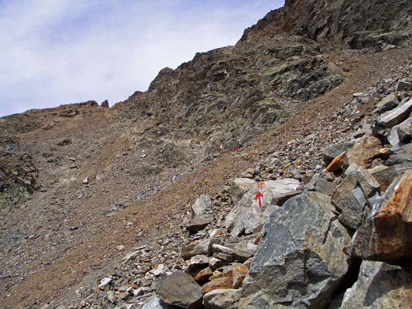 Foto: vince 51 / Wander Tour / Über den Hochzeiger auf den Wildgrat (2971m) / Bei´m aufstieg zum Wildgrat / 08.05.2008 23:50:36