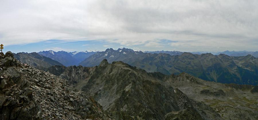 Foto: vince 51 / Wander Tour / Über den Hochzeiger auf den Wildgrat (2971m) / Blick nach Süden / 08.05.2008 23:33:53