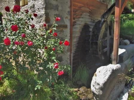 Foto: Wolfgang Dröthandl / Wander Tour / Unterwegs auf Urwegen / Rückweg nach Partschins (Straße vom / zum Wasserfall) / 02.08.2016 17:26:32
