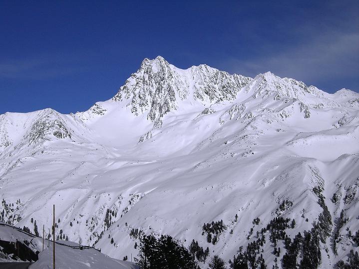 Foto: Andreas Koller / Wander Tour / Glockturm (3353m) / Blick auf die Vordere Ölgrubenspitze (3456 m) / 22.03.2008 15:24:33