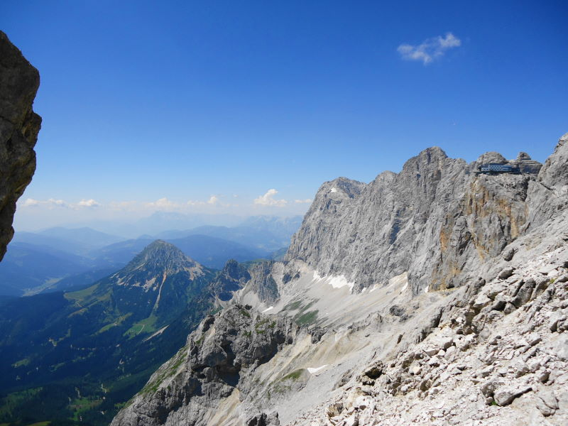 Foto: Günter Siegl / Wander Tour / Hunerkogel - Großer Koppenkarstein - Edelgrieß (2863m) / Dachstein Südwand / 24.08.2015 10:04:21