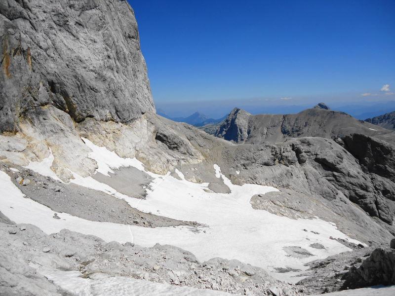 Foto: Günter Siegl / Wander Tour / Hunerkogel - Großer Koppenkarstein - Edelgrieß (2863m) / Edelgrieß Gletscher / 24.08.2015 10:04:04