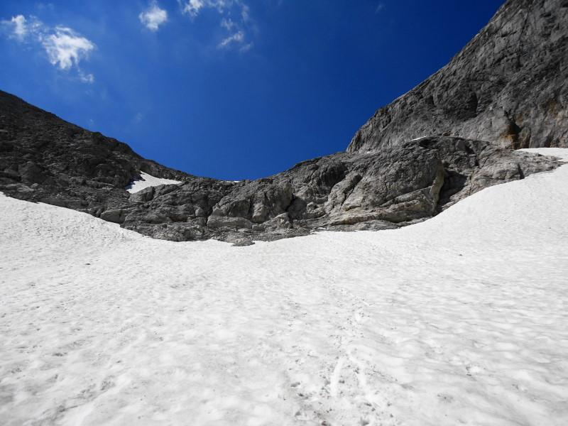 Foto: Günter Siegl / Wander Tour / Hunerkogel - Großer Koppenkarstein - Edelgrieß (2863m) / Einige leichte Kletterstellen zum Edelgrieß Gletscher / 24.08.2015 10:03:46