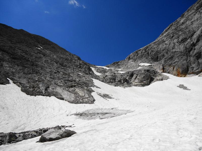 Foto: Günter Siegl / Wander Tour / Hunerkogel - Großer Koppenkarstein - Edelgrieß (2863m) / Edelgrieß Gletscher / 24.08.2015 10:03:06