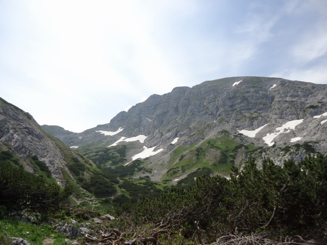 Foto: Günter Siegl / Wandertour / Über die Ebenseer-Hochkogelhütte auf den Schönberg / Schönberg mit Doppel-Gipfel-Vergnügen / 07.07.2012 17:56:02