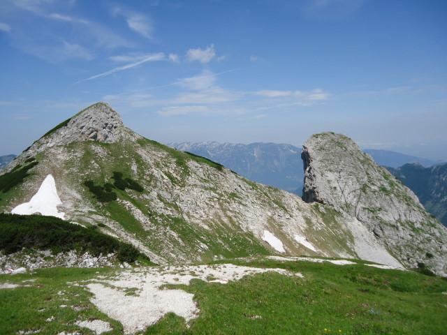 Foto: Günter Siegl / Wandertour / Über die Ebenseer-Hochkogelhütte auf den Schönberg / Hangender Kogel / 07.07.2012 17:42:58