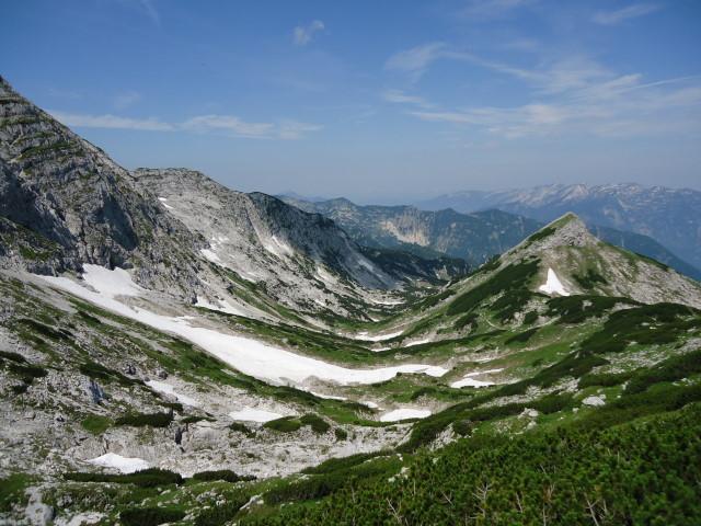 Foto: Günter Siegl / Wander Tour / Über die Ebenseer-Hochkogelhütte auf den Schönberg / Feuertal / 07.07.2012 17:41:43