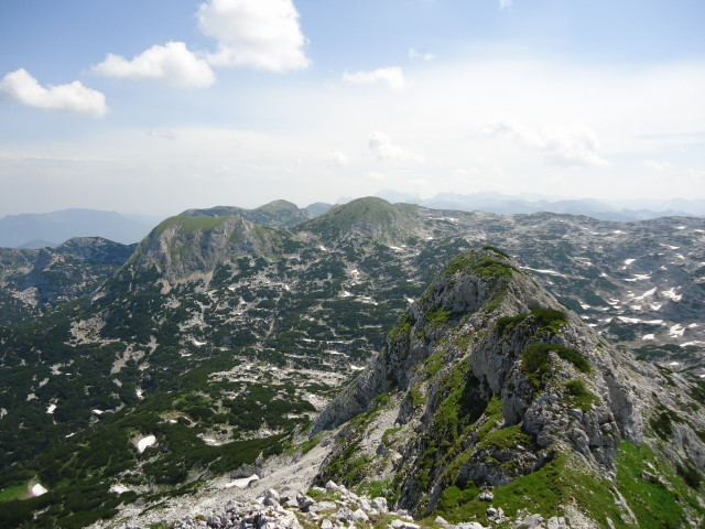 Foto: Günter Siegl / Wander Tour / Über die Ebenseer-Hochkogelhütte auf den Schönberg / Wehrkogel (2.008m) / 07.07.2012 17:40:19