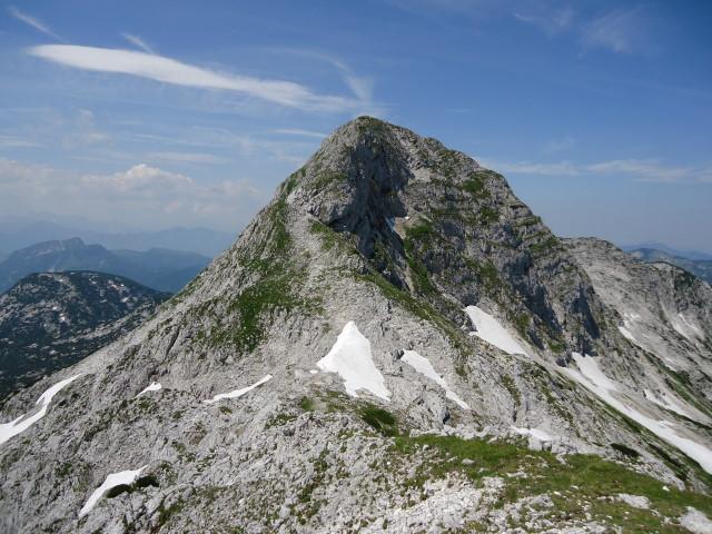 Foto: Günter Siegl / Wander Tour / Über die Ebenseer-Hochkogelhütte auf den Schönberg / Ostgrat Schönberg / 07.07.2012 17:39:15