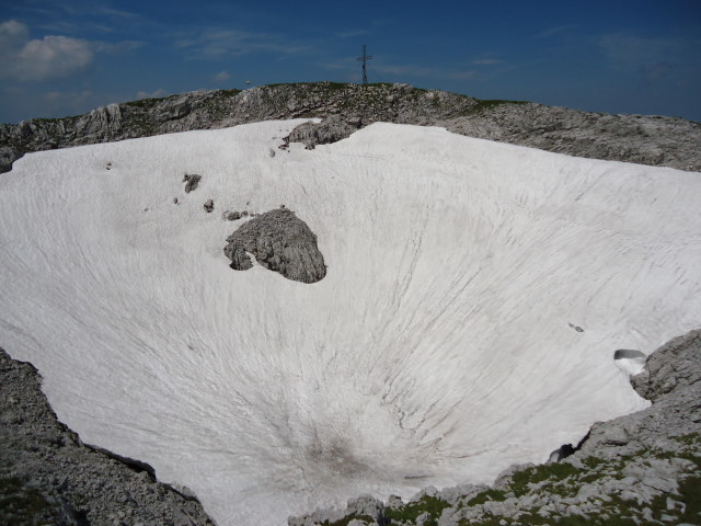 Foto: Günter Siegl / Wander Tour / Über die Ebenseer-Hochkogelhütte auf den Schönberg / 07.07.2012 17:33:28