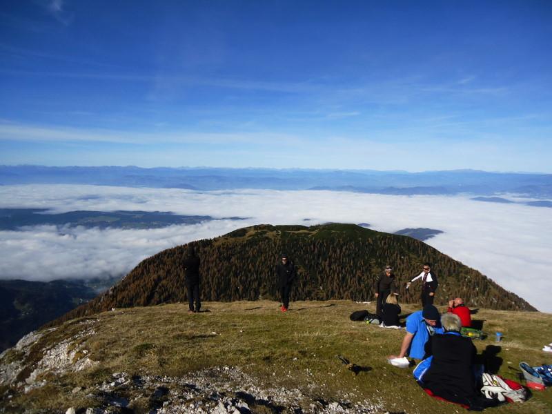 Foto: Günter Siegl / Wander Tour / Hochobir - Aussichtskanzel im Kärntner Unterland (2139m) / 27.11.2016 18:15:42