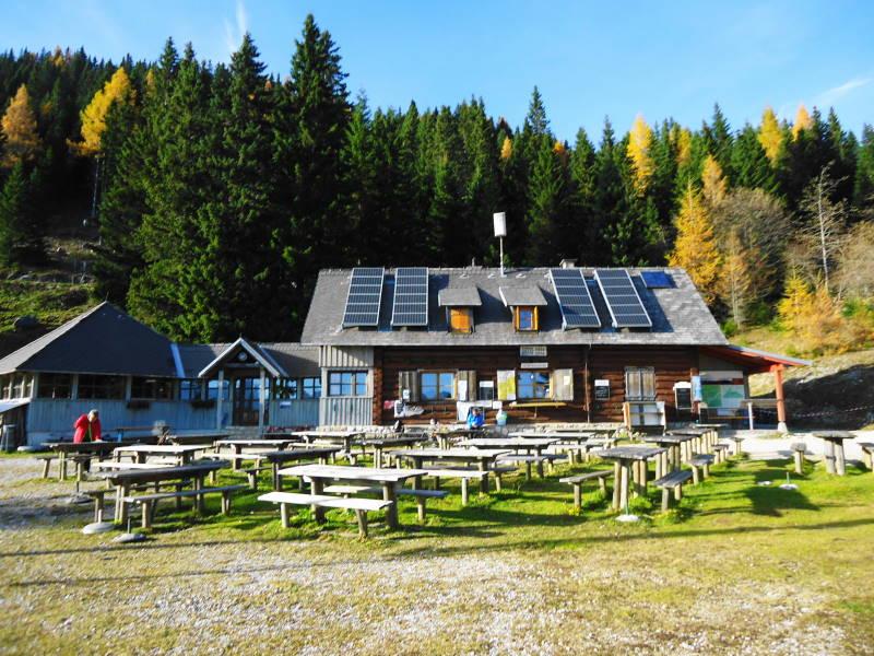 Foto: Günter Siegl / Wander Tour / Hochobir - Aussichtskanzel im Kärntner Unterland (2139m) / Eisenkappler Hütte  / 27.11.2016 18:18:50