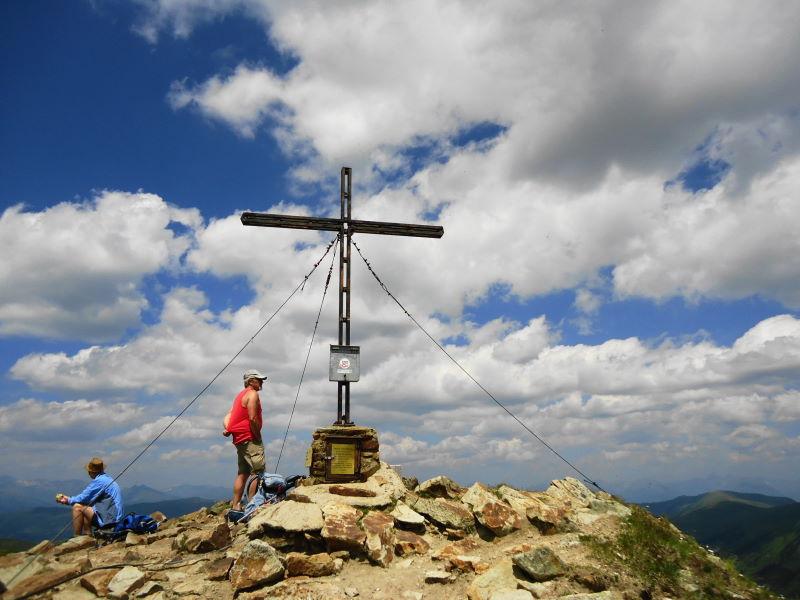 Foto: Günter Siegl / Wander Tour / Rundwanderung über den Königstuhl (2336m) / Gipfel Gr. Königstuhl / 15.07.2017 18:19:30