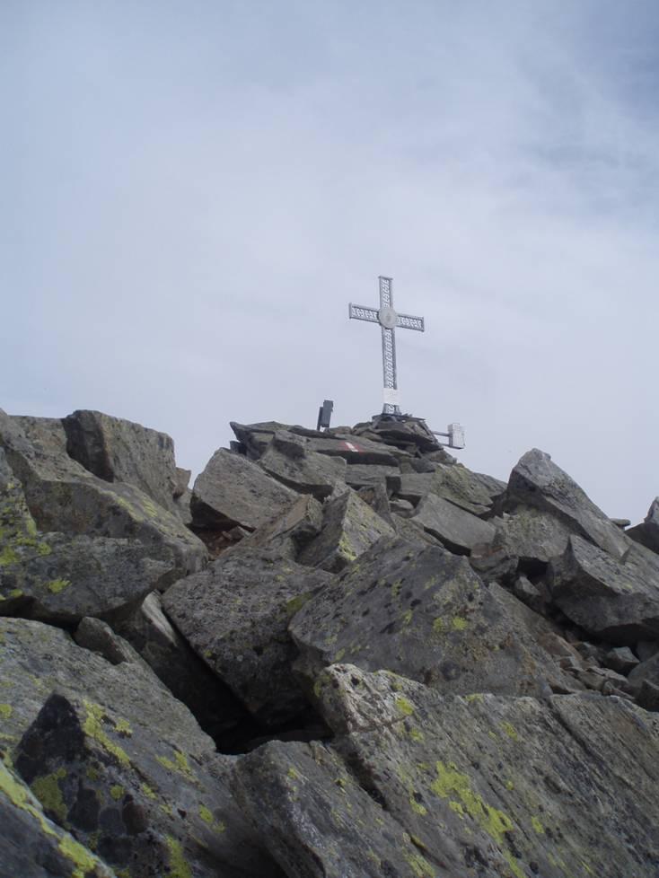 Foto: Gernot Huber / Wander Tour / Reißeck (2965m) / Gipfelkreuz Großes Reißeck / 05.03.2010 19:15:06