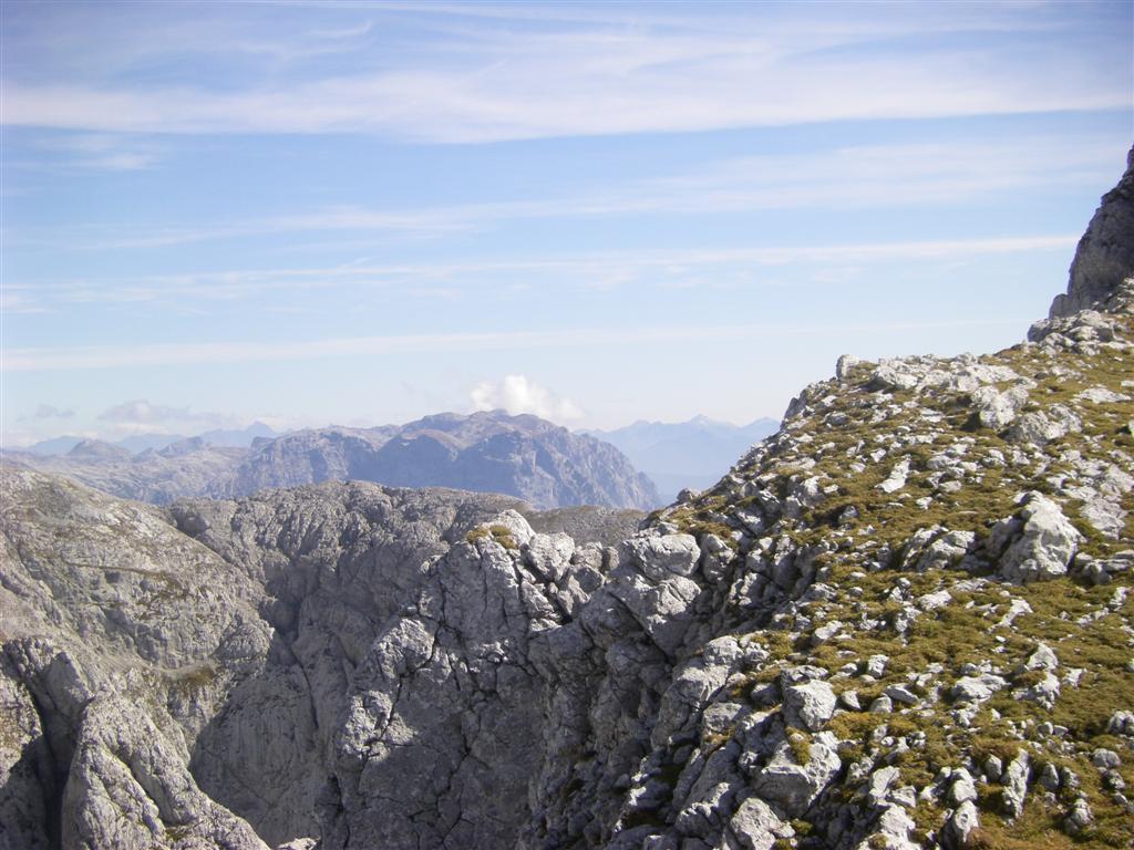 Foto: Karl Littke / Wander Tour / Stahlhaus - Hohes Brett - Hoher Göll - Alpeltal / Ausblick 1 / 07.10.2009 15:39:53