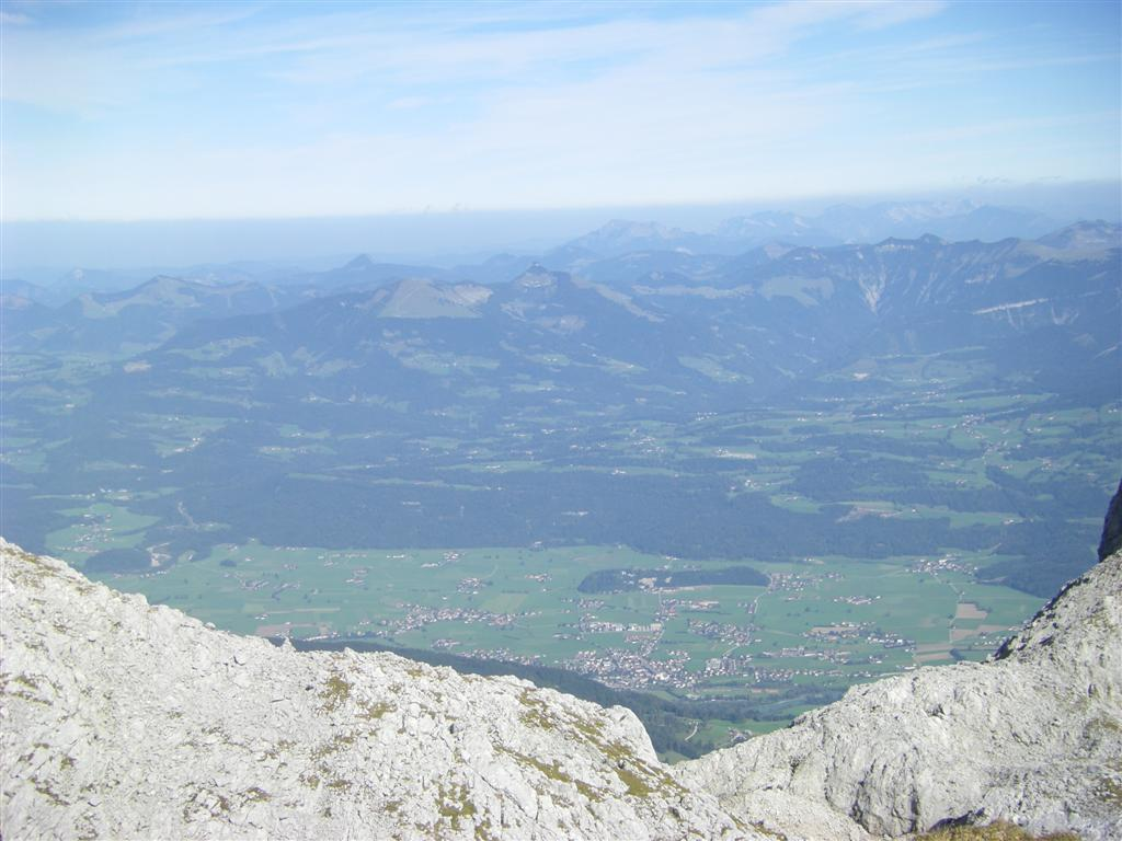 Foto: Karl Littke / Wander Tour / Stahlhaus - Hohes Brett - Hoher Göll - Alpeltal / Ausblick 2 / 07.10.2009 15:40:20