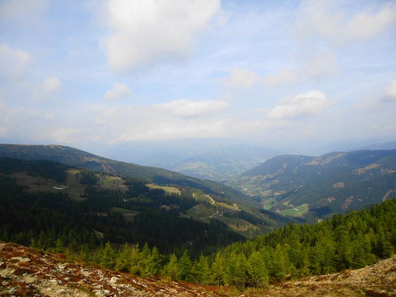 Foto: Günter Siegl / Wander Tour / Hochpalfennock und Kamplnock (2101m) / Blick Richtung Eisentratten / 10.11.2016 21:24:31