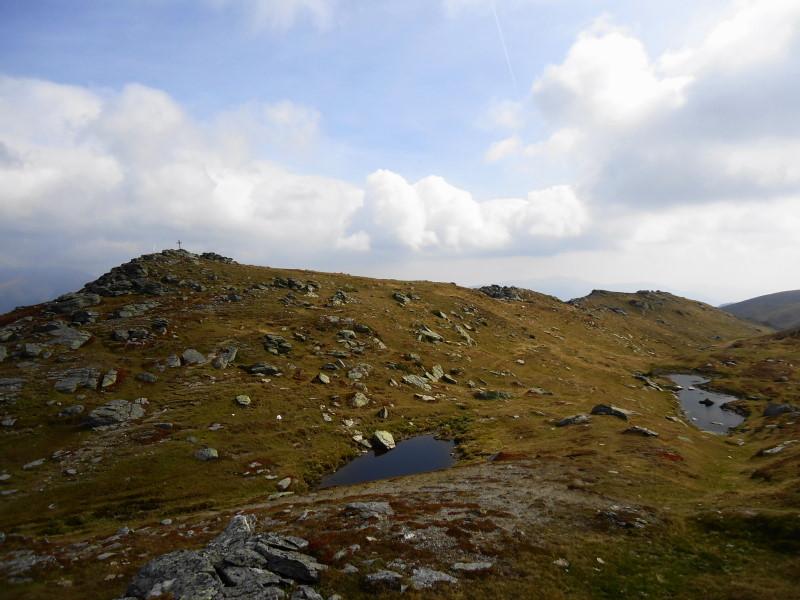 Foto: Günter Siegl / Wander Tour / Hochpalfennock und Kamplnock (2101m) / Gipfel Kamplnock / 10.11.2016 21:23:13