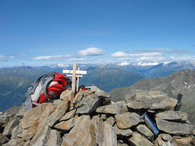 Foto: Gernot Huber / Wander Tour / Hoher- und Niederer Prijakt (3064m) / Hoher Prijakt / 28.01.2011 14:31:32