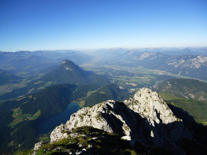 Foto: Günter Siegl / Wander Tour / Von Bärnstatt auf Scheffauer und Sonneck / Hintersteiner See und Inntal / 11.09.2016 17:50:11