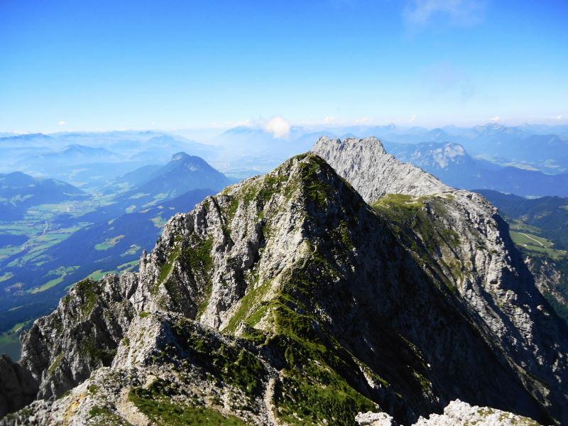 Foto: Günter Siegl / Wander Tour / Von Bärnstatt auf Scheffauer und Sonneck / Abstieg von der Kopfkraxn / 11.09.2016 17:34:24