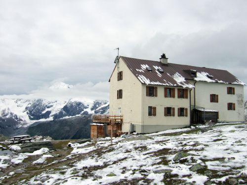 Foto: Ingo Gräber / Wander Tour / Hoher Angelus über die Reinstadler-Route (3521m) / Düsseldorfer Hütte (Zaytal-Hütte, Rif. A. Serristori) / 09.02.2013 13:12:22
