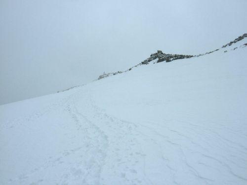 Foto: Ingo Gräber / Wander Tour / Hoher Angelus über die Reinstadler-Route (3521m) / Über den Gletscher zum Gipfel / 09.02.2013 13:08:46