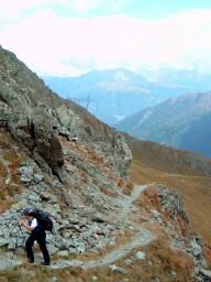 Foto: Andreas Koller / Wander Tour / Über den Austriaweg auf die Porze (2599 m) / 07.05.2008 22:34:11