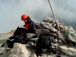Foto: Andreas Koller / Wander Tour / Über den Austriaweg auf die Porze (2599 m) / 07.05.2008 22:33:43