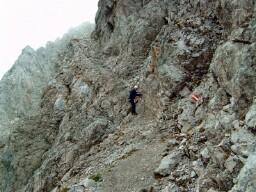 Foto: Andreas Koller / Wander Tour / Über den Austriaweg auf die Porze (2599 m) / 07.05.2008 22:33:21