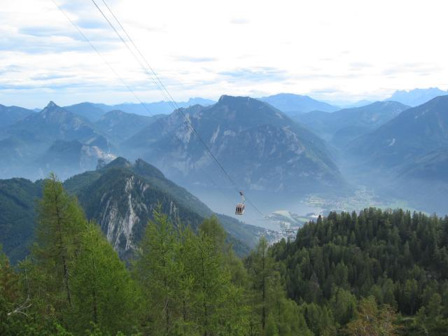 Foto: pepi4813 / Wander Tour / Ebensee - Feuerkogel, 1624m / Kurz vor dem Feuerkogel: Blick nach Ebensee / 13.07.2009 09:42:52