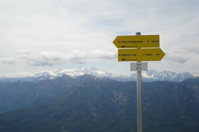 Foto: Günter Siegl / Wandertour / Überschreitung des Katergebirges / Rosskopf / 30.05.2011 07:44:15