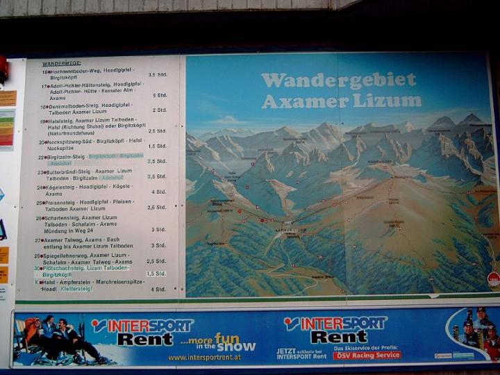 Foto: Andreas Koller / Wandertour / Hochtennspitze: Klettersteig oder Wanderweg? (2549 m) / 09.05.2008 15:09:12