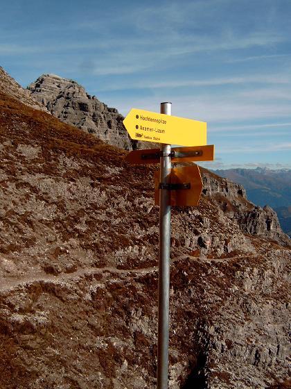 Foto: Andreas Koller / Wandertour / Hochtennspitze: Klettersteig oder Wanderweg? (2549 m) / 09.05.2008 15:08:54